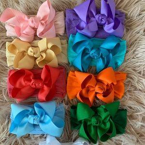 Baby headband bow lot
